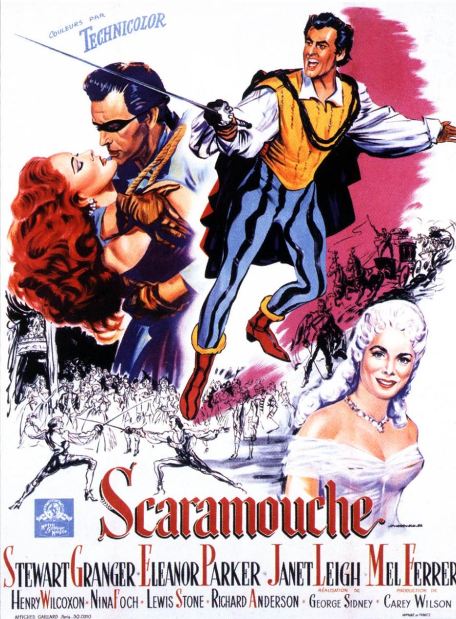 Image result for scaramouche 1952 poster